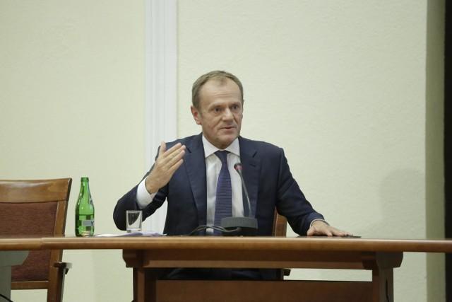 Donald Tusk podczas przesłuchania przed komisją śledczą ds. Amber Gold