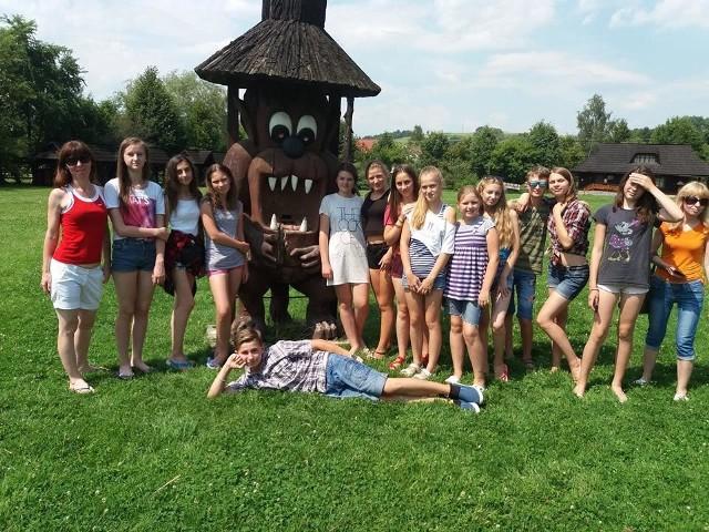 W Skrawku Nieba w Łosiu wypoczywała grupa 30 dzieci z Ukrainy. Z wakacji wywieźli wspaniałe wspomnienia i pamiątki.