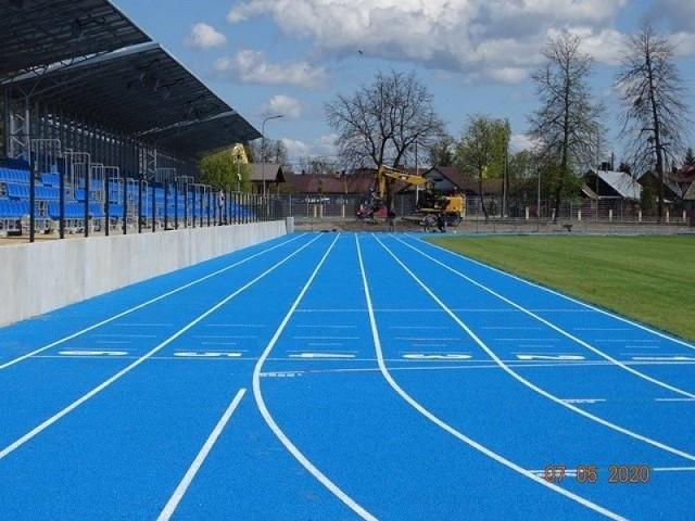 Stadion OSiR w Hajnówce