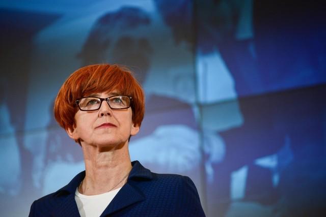 Elżbieta Rafalska przedstawiła nowe propozycje mające poprawić ściągalność alimentów.