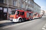 Pożar przy ul. Więckowskiego. Lokatorka zatruła się czadem