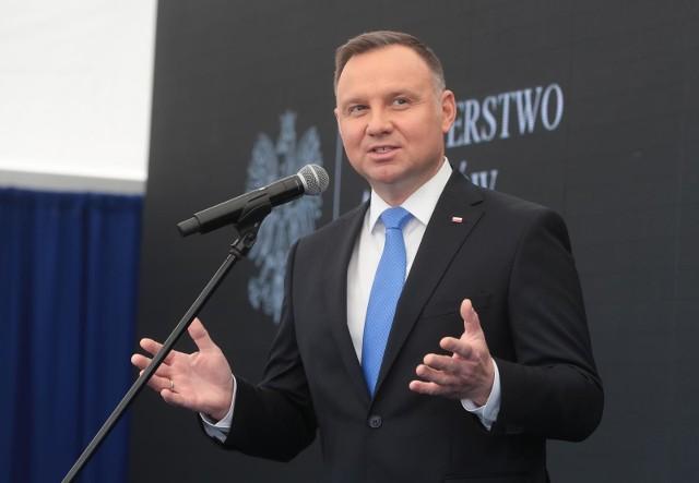 Prezydent Duda skierował do Sejmu projekt ustawy o dodatku solidarnościowym