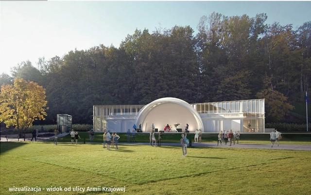 Tak będzie wyglądała muszla koncertowa w Gdyni