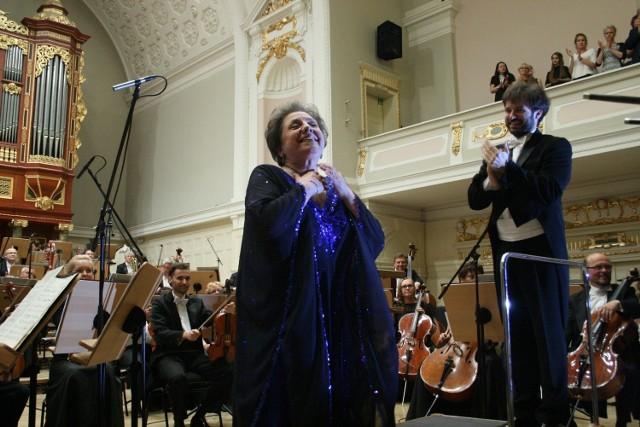 Ewa Podleś i Orkiestra Filharmonii Poznańskiej pod batutą Łukasza Borowicza