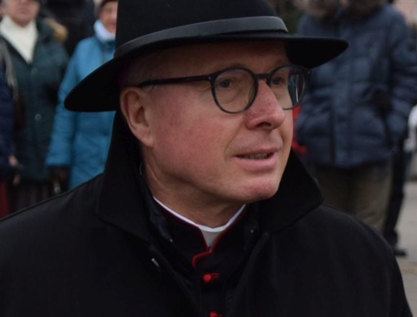 Biskup łomżyński Janusz Stepnowski