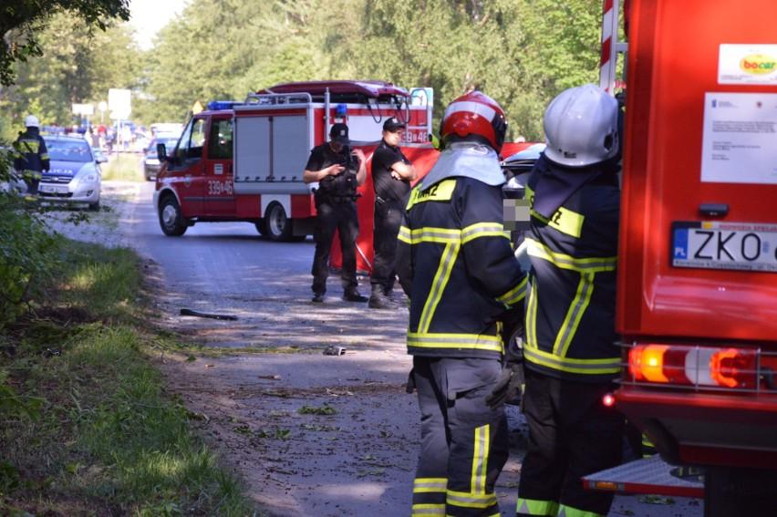 Do zdarzenia doszło około godziny 17 na drodze z Mielna -...
