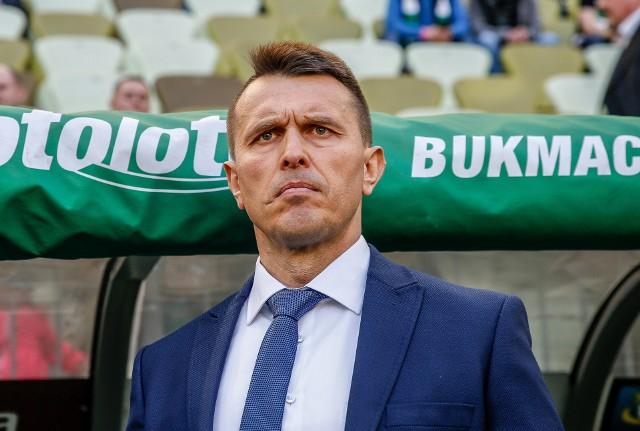 Trener Leszek Ojrzyński
