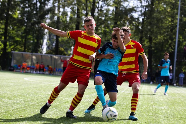 Centralna Liga Juniorów U-18. Jagiellonia Białystok w ostatnim tegorocznym meczu pokonała 4:3 Śląsk Wrocław, choć to rywale trzykrotnie wychodzili na prowadzenie.