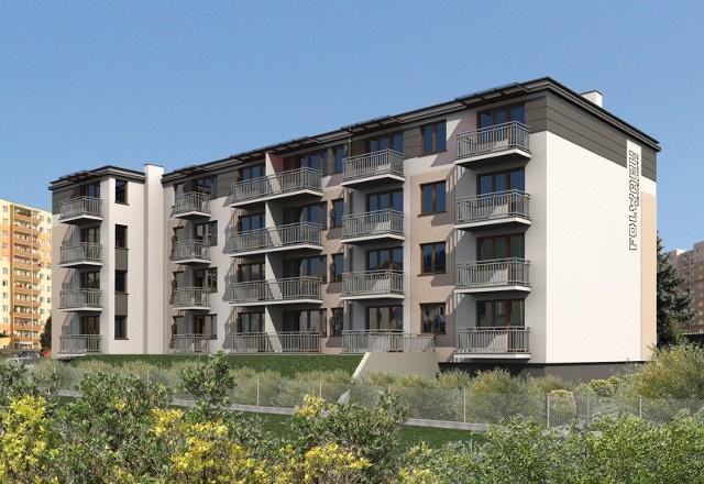 Pierwszy budynek miniosiedla WWW pierwszym budynku znajdzie się 31 mieszkań