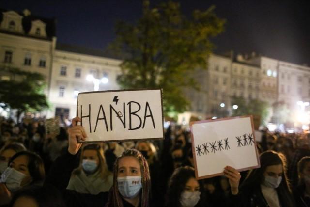 Protesty przeciwko wyrokowi TK