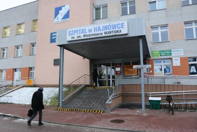 Szpital w Hajnówce
