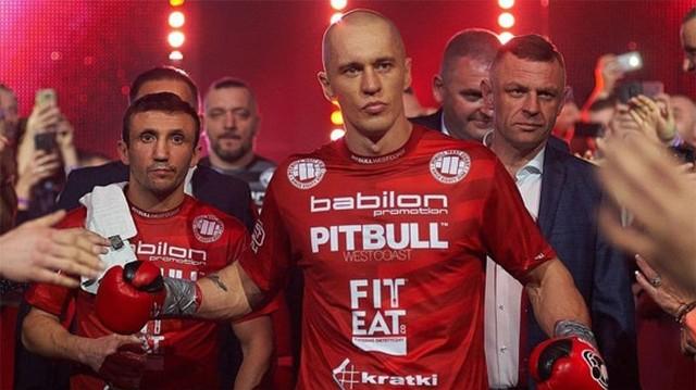 Michał Cieślak udanie powrócił na ring