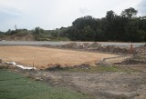 Wysłużony stadion Arkonii Szczecin przechodzi modernizację. ZDJĘCIA