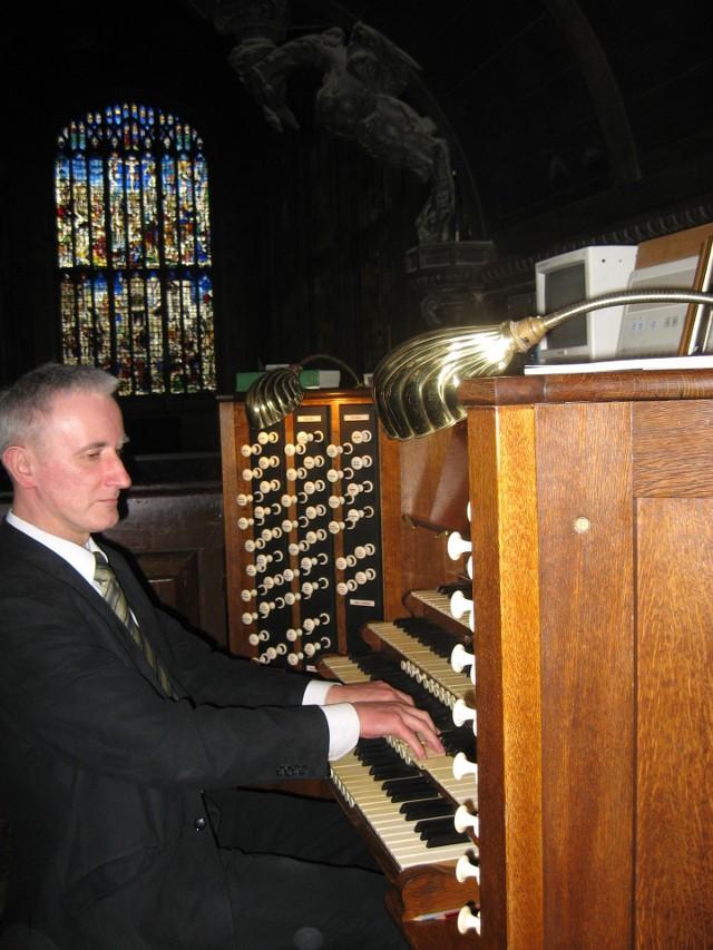 Znakomitego gdańskiego organistę usłyszymy w Słupsku w środę, 13 października
