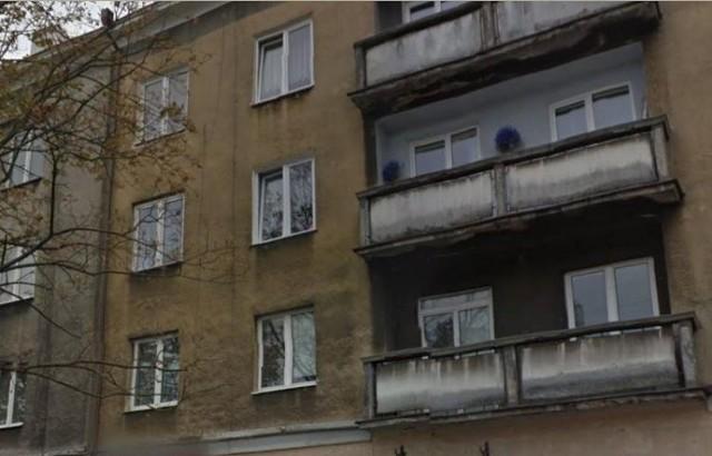 Fragment kamienicy przy ul. Sienkiewicza 28