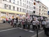Wrocław: Emeryci i renciści zablokowali ul. Piłsudskiego (ZDJĘCIA)