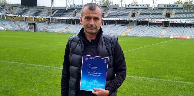 Sławomir Grzesik z Korony Kielce z trenerską licencją UEFA PRO!