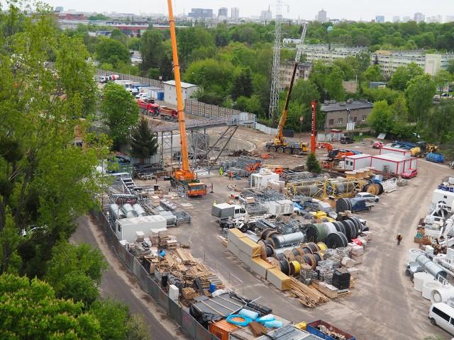 Plac budowy przy ul. Odolanowskiej