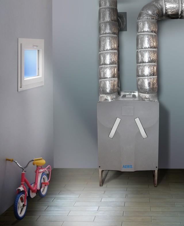 Rekuperator zamontowany w piwnicy domuTylko dobrze przemyślana i zaprojektowana instalacja wentylacji mechanicznej daje wysoki komfort oraz oszczędności związane z odzyskiem ciepła z powietrza usuwanego z domu.