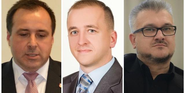 Piotr Łuczyński (z lewej) z 11.592 zł brutto ma dostać 6.630 zł. Dariusz Jaworski miał 6.250 zł, ale teraz już 5.550 zł netto. Sławomir Kowal miał 12.360 zł brutto, później 9.480 zł.