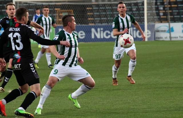 Piłkarze grudziądzkiej Olimpii nie zdołali przeciwstawić się atakom rywali z GKS Tychy.