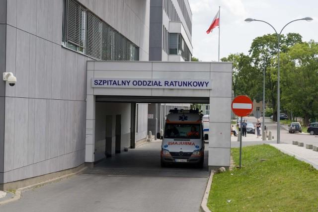 Szpitalny Oddział Ratunkowy w Uniwersyteckim Szpitalu Klinicznym w Białymstoku.