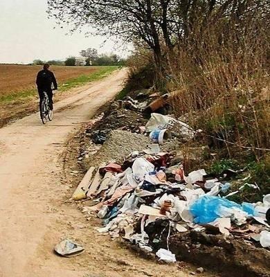 Wysypiska śmieci to wielki problem w podkrakowskich gminach FOT. BARBARA CIRYT