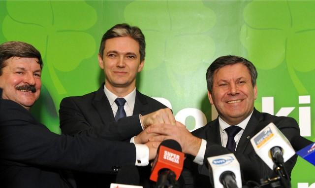 Kalinowski, Jarubas i Piechociński