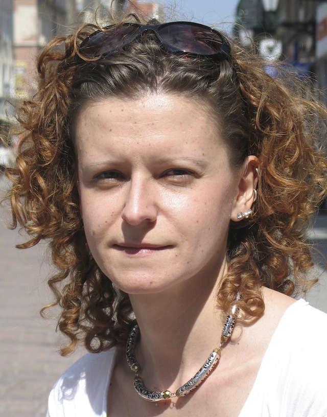 Joanna Jaroszyńska ze Stowarzyszenia Rowerowy Toruń