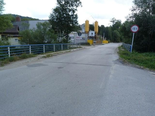 Most na ul. Wolności w Sułkowicach