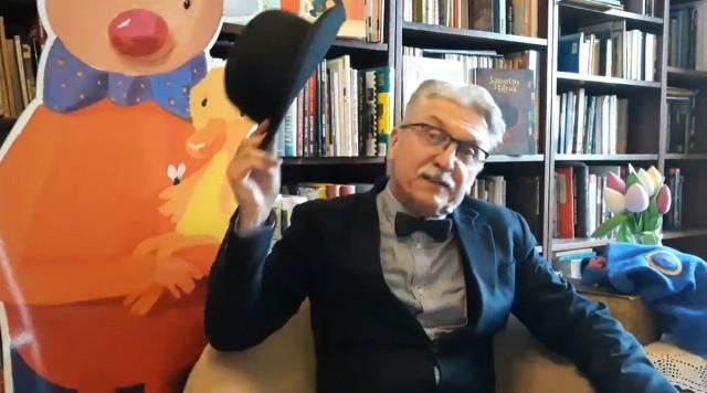 Wojciech Widłak, pisarz tworzący książki dla dzieci, mówi o Panu Kuleczce.