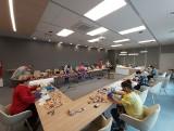 Darmowe maseczki ochronne są szyte w nowiutkim Gminnym Centrum Kultury w Kłodawie