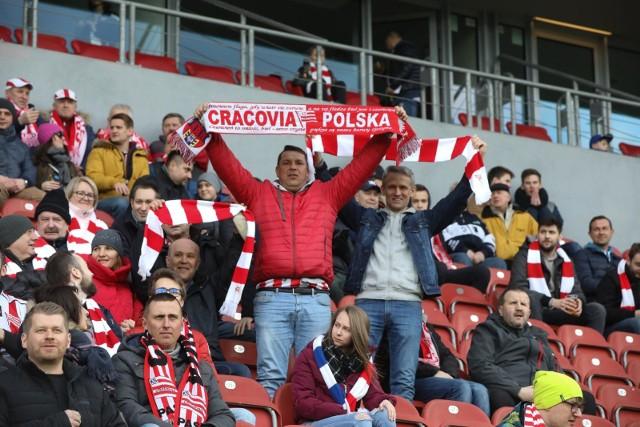 Kibice Cracovii świętowali wygraną