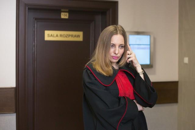 Bożena Włodarczyk, prokurator IPN, w sądzie