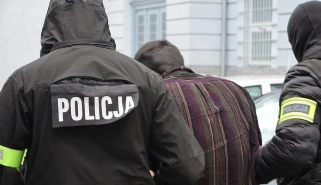 Stefan W. wkrótce po zatrzymaniu przez policję w styczniu 2019 roku.