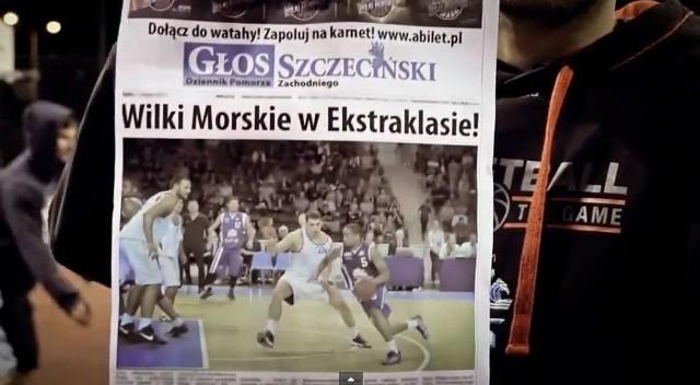 Głos Szczeciński również wystąpił w teledysku.