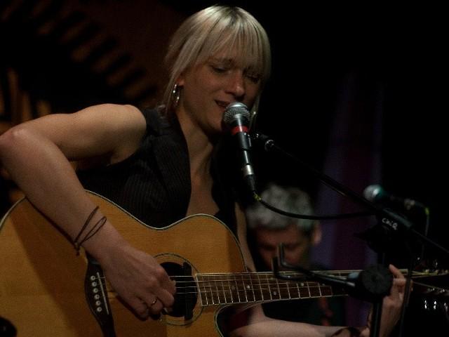 , wokalistka grupy - Joanna Karkoszka