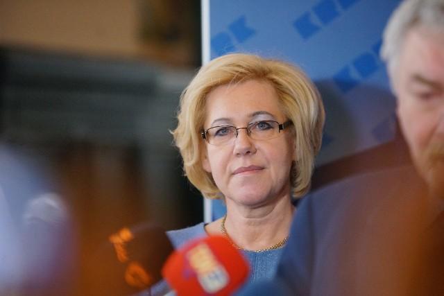 Barbara Nowak: Miejsc pracy będziemy mieć dla nauczycieli więcej, a nie mniej
