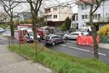 Tragiczny wypadek w Krośnie Odrzańskim. Mężczyzna wsadzał dzieci do auta i został potrącony. Zginął na miejscu