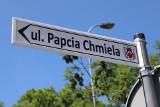 Już jest! Pierwsza w Polsce ulica Papcia Chmiela w Słubicach, w Lubuskiem