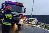 Śmiertelny wypadek na S1 w Bielsku-Białej. Kierowca hyundaia jechał ekspresówką pod prąd