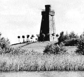 Tak niegdyś wyglądały okolice wieży Bismarcka w Szczecinku.