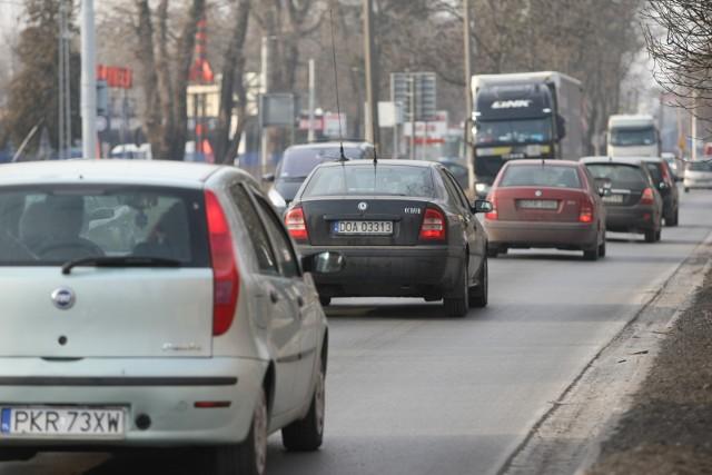 Sytuacja w rejonie skrzyżowania. Zdjęcie ilustracyjne