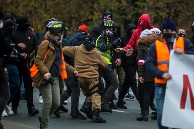 Marsz Niepodległości w Warszawie 11.11.2020