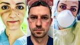 Selfie z placu boju. Poruszające zdjęcia medyków walczących z koronawirusem