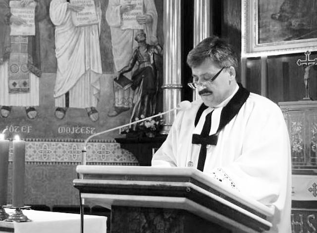 Ks. Piotr Wowry, proboszcz parafii ewangelickiej w Ustroniu zmarł 7 października. Miał 57 lat