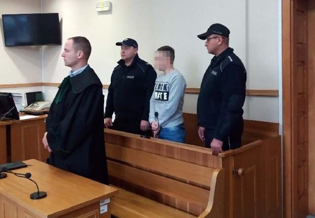 Mężczyzna został skazany na karę pozbawienia wolności
