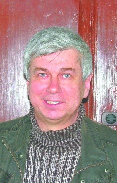 Michał Kozłowski ze Stowarzyszenia Uroczysko
