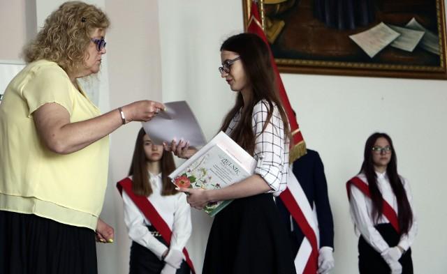 Zakończenie roku szkolnego w IV Liceum Ogólnokształcącym w Grudziądzu