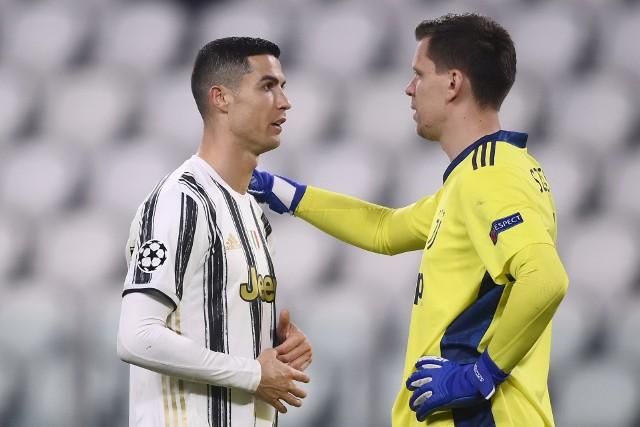 Cristiano Ronaldo i Wojciech Szczęsny